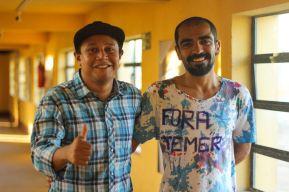 Rômulo Vieira e Rafael Franco - Foto José Ailson (Um Zé)