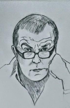 Professor Marcílio por Pedro Milhome