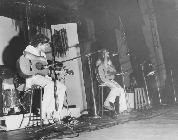 Clodo e Climério. 1979. Lançamento do LP São Piauí.