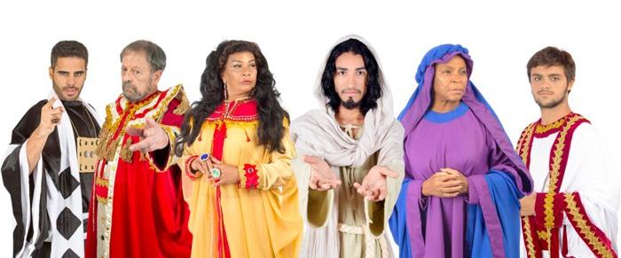 Famosos atuam em nova montagem da Paixão de Cristo, em Floriano, noPiauí