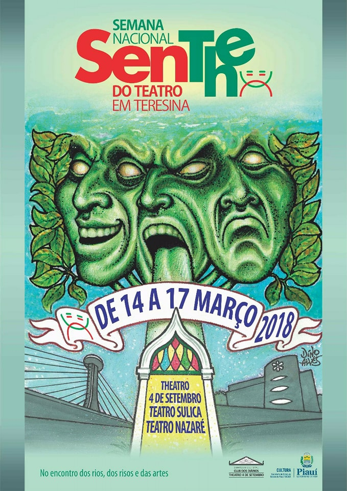 Programação Completa da SeNThe – Semana Nacional do Teatro em Teresina – 14 a 17 demarço