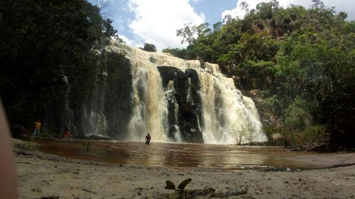 Cachoeira do Engenho Velho, em Cocal daEstação