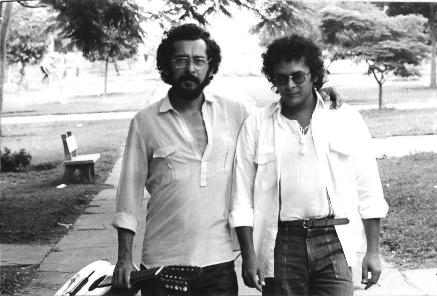 Clésio e Clodo. 1983. Foto de Marcor.