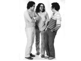 Clodo, Climério e Clésio. 1981. Foto de Carlos Veras.